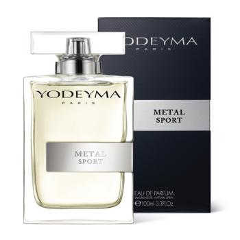 Yodeyma Metal Sport Eau de Parfum spray, 100ml.