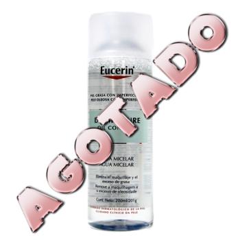 Eucerin Dermo Pure oil control agua micelar, 200ml.