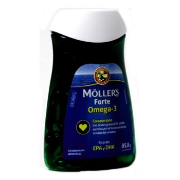 Mollers Forte |Omega-3| 60capsulas de 1gr.