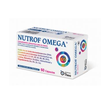 Nutrof Omega, 60 cápsulas.
