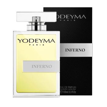 Yodeyma Inferno Spray 100 ml, Agua de Perfume de Yodeyma para Hombre.