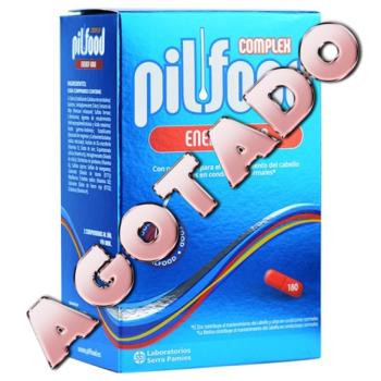 Pilfood Complex Energy Hair 180 comprimidos Vitaminas para Cabello y Uñas.