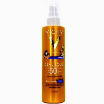 Vichy Ideal Soleil Spray Suave 200 ml, Protector Solar para Niños.