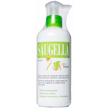 SAUGELLA FRESH jabon higiene intima 250 ml + REGALO MONEDERO
