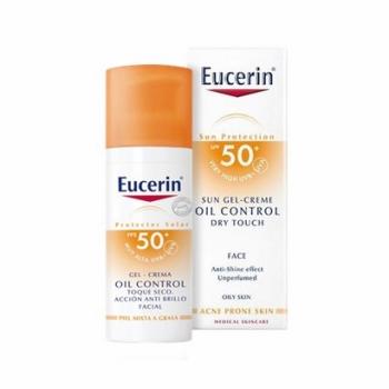 Eucerin |Protector Solar| GelCrema Oil Control Toque Seco Spf50+| 50ml.