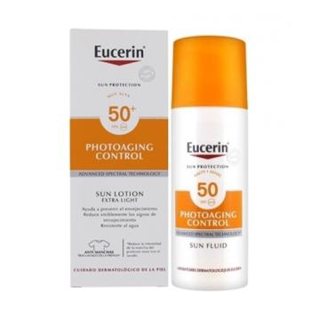 Eucerin  Protector Solar Photoaging Control Fluido Spf50+  50 ml.