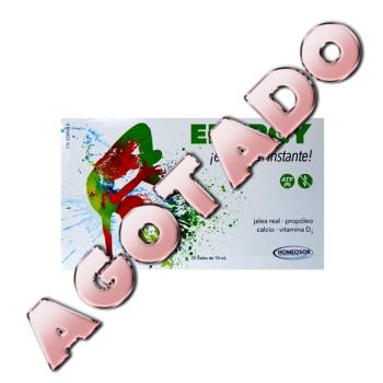 Energy |Jalea Real Propóleo Calcio y Vitamina D3| 20viales.