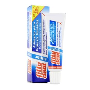 Fittydent 40 gr, Adhesivo para Protesis Dentales.