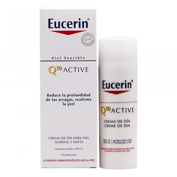 Eucerin Q10 - Crema Dia Ligera Piel Normal Mixta - 50 ml.