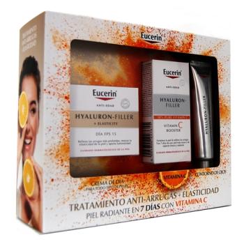 Cofre Eucerin Tratamiento Antiarrugas+Elasticidad con Vitamina C - Todo Tipo de Pieles