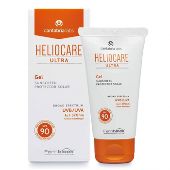 Heliocare Ultra - Protector Solar Gel Spf90; 50 ml.