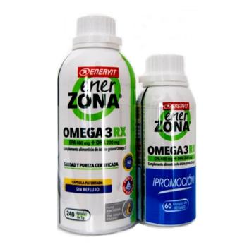 Enerzona Omega 3RX,1gr, 240capsulas,Regalo 60capsulas.