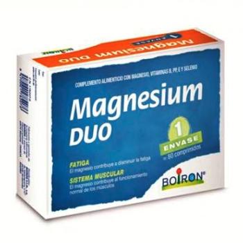 Boiron Magnesium Duo, 80 comprimidos.