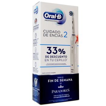 Oral-B Cepillo Eléctrico Profesional 2, para el cuidado de las encías.