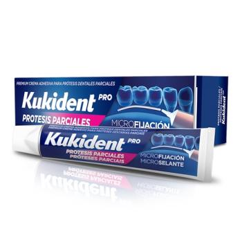 Kukident Pro Microfijación 40 gr, para Prótesis Dentales Parciales.