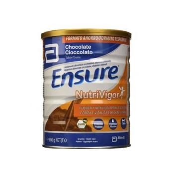 Ensure Nutrivigor 850 gr, Complemento Alimenticio Sabor Chocolate.