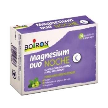 Magnesium Duo Noche 30 cápsulas, Ayuda a la Conciliación del Sueño.