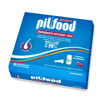 Pilfood Intensity Tratamiento Intensivo, 15 ampollas + 60 comprimidos.