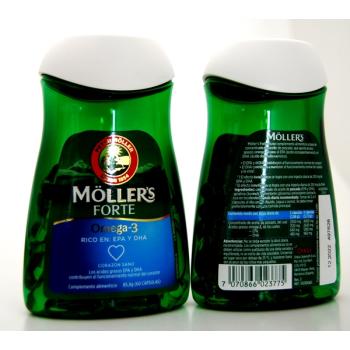 Moller s Forte  Omega-3  60capsulas de 1gr.- PACK 2UN.